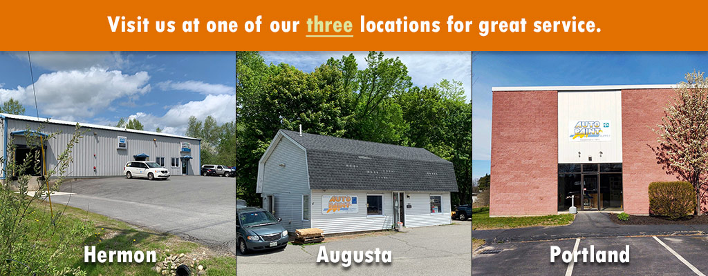 Maine PPG Paint Supplier, Automotive and Commercial Paint Refinish